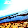 ☆ランニングロードの海