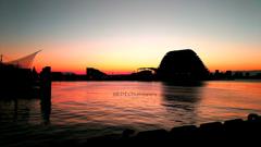 ☆朝焼けのHarbor♪