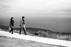 海と空と風の散歩道