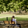 書を持てよ、公園へ出よう(ベンチ編)