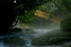 光芒 菊池渓谷 Ⅳ