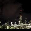 四日市の工場夜景④