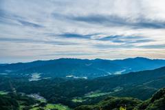 八幡岳から北の眺望