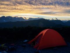 夢のテント場