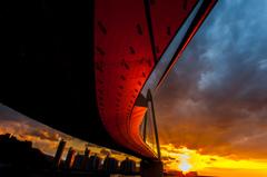 The crimson sunset #2
