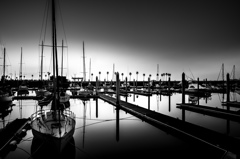 Monochrome sunset #15