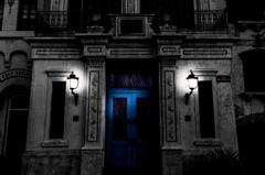 House of a blue door #2