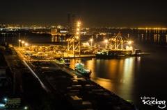 四日市工場夜景