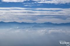 千畳敷カールから観る富士