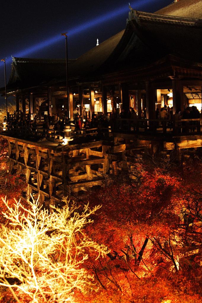 紅葉清水寺