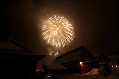 大内宿の雪まつり