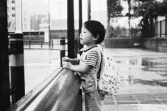 雨の日のバス停 #2