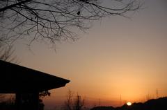 いつも見てた夕陽