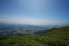 伊吹山山頂より琵琶湖を望む