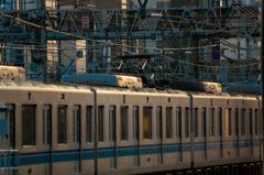 中野駅 東西線 夕風景