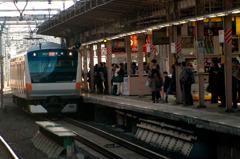 中野駅 昭和の雰囲気