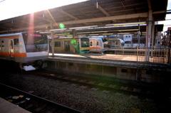 中野駅 朝風景