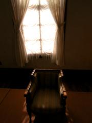 暖かい椅子