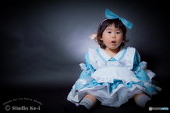 Alice in wonderland -2years old-