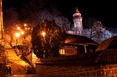 チェコのクリスマス ...city Stramberk ...old town
