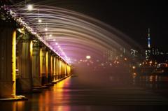 Banpo Bridge, Seoul, Korea
