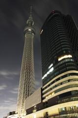 Tokyo SkyTree - My last night in Tokyo