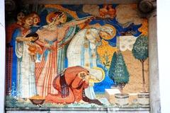 柱間壁面絵画