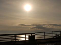 プユニ岬の夕陽