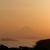 夕暮れ富士展望