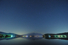 Mt.Fuji on the lake