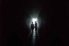 冬至光遥拝隧道
