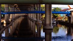 水辺の柱廊