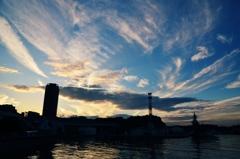 横須賀・夕景