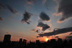 いつかの夕陽・・