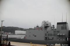 護衛艦「あきづき」