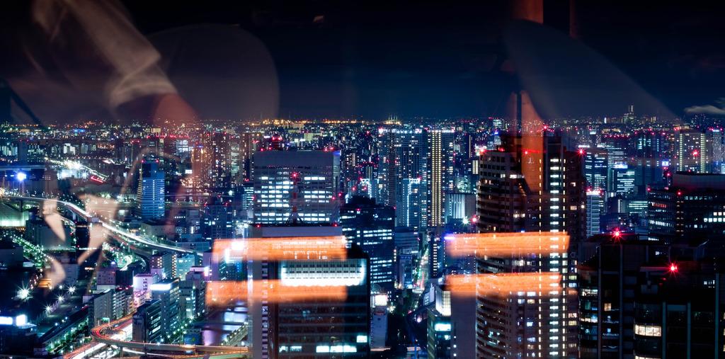 東京パノラマ夜景