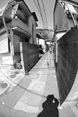 路地裏撮影HITO