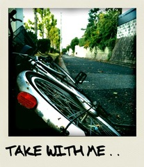 Take with me.