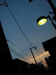 吉祥寺、夏の日暮れ 3