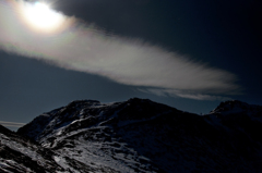 空と大地と雲の狭間