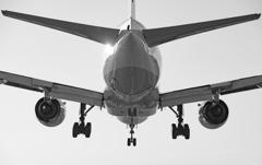 Landing Approach(モノクロ)