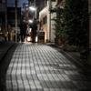 神楽坂の夕景