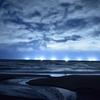 極寒の漁火夜景