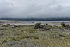 宇曽利湖を眺めて