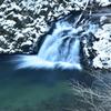 雪景色の小滝