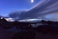 尻労浜の夜明け前
