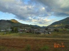 Snap Art 《中央線から見る田園風景》