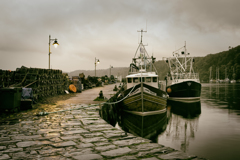 rainy port