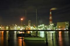 霞が浦工場夜景1