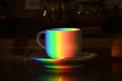 虹の tea cup
